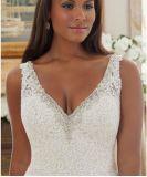 2017 Crystal Beaded Long Train Bridal Wedding Dresses CT204