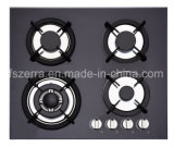 China Supplier Built-in Tempered Glass 4 Burner Gas Hob Stove Jzg54002