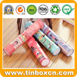 Metal Tin Canister for Pencils Holder Stationery Packaging Boxes
