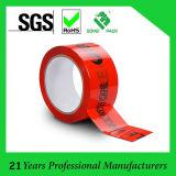 Custom Printed Packing Tape 48mm X 66m Fragile Tape (KD-028)