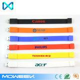 Brand Logo Wristband Silicone USB Memory Stick Flash Drive