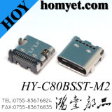C Type 3.1 SMT USB Jack 24pin USB Connector (HY-C80BSST-M2)