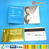 Custom Scratched PVC Membership plastic gift Cards with card sleeve