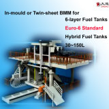 in-Mould or Twin Sheet Blow Molding Machine for Euro 6 Standard Hybrid Tanks