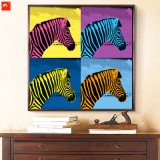 Modern Decorative Horses Canvas Print for Home