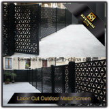 Exterior Decorative Laser Cut Aluminum Garden Fence Panel with Factory Price