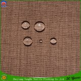 Hotel Textile Woven Polyester Waterproof Flocking Blackout Curtain Fabric