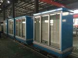 China Produce Glass Door Beverage Freezer Showcase for Promotion