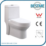 Bathroom One Piece Dual Flush Western Toilet (BC-1025A)