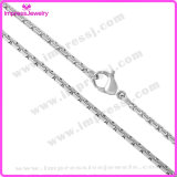 Wholesale Jewelry China Silver Tone Box Chain Stainless Steel Chain