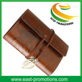 PU Leather Cover Loose Leaf Blank Notebook for Journaal Diry