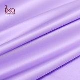 Light Purple Eco Friendly Dyed Plain Woven Dubai Fine Satin Fabric for Lady Night Dress