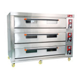 3 Deck 9 Trays Commercial Electric Oven Kitchen Bakery Machine