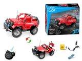 Kids Toy R/C Block Jeep with USB 531 PCS P. Bx