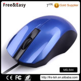 Blue Optical 3 Buttons Scroll Wheel PC USB Wired Mouse