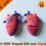 Custom Gifts Human Heart Shape USB Flash Memory (YT-Heart)
