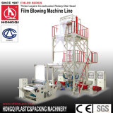 Die Head Rotation Three Layers Coextrusion Film Blowing Machine