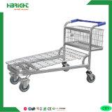 Heavy Duty Cargo Warehouse Trolley Cart