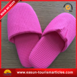 High Quality Red Hotel Room Waffle Slippers