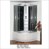 High Tray Luxury Complete Shower Room with Six Jets Shelf Hand Shower