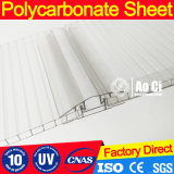 High Quality Hollow Polycarbonate Plastic Sheet with UV Coating