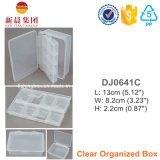 Clear Compartment Plastic Box