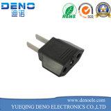 AC 250V 2.5A Mounting Black 3 Pins C8 Male Plug Power Inlet Socket