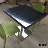 Fast Food Furniture 600*600mm Square Dining Table for Kfc