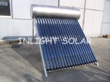 Stainless Steel Compact Pressurized Heat Pipe Solar Energy Water Heater