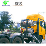 499L Nominal Capacity Cryogenic Dpl Cylinder for Truck Transportation