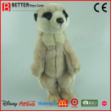 ASTM Realistic Soft Toys Stuffed Animal Plush Toy Meerkat