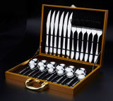 Dinner Ware Set Stainless Steel Knife Spoon Fork Six Piece Gift