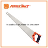 "8tpi 65mn Steel 26"" Hand Saw with Cushion Grip for Woodworking"