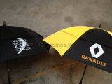 Car Logo Business Gift Two Layers Windproof Golf Umbrella
