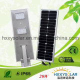 3 Years Warranty Integrated Solar Street Light 20W
