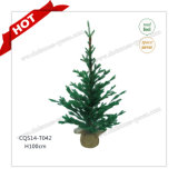 H90-125cm Plastic Wholesale Outdoor/Indoor Artificial Christmas Tree Decoration