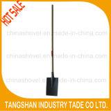 for Sale Hardware Long Wood Handle Steel Shovel