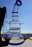 Glass Water Pipe with Honey Comb Smoking Water Pipes