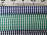1 mm Checks Twill 60 Cotton 40 Polyester Fabric