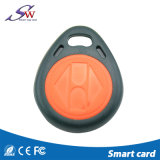 Custom Colour Lf 125kHz T5577 Factory Price RFID ABS Keychain
