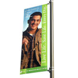 Street Light Pole Advertising Poster Image Sign Hardware Banner Arm