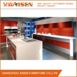 2016 Modern Red Color Kitchen Cabinet From China