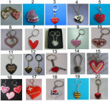 Heart Key Chain as Valentien Day Gifts