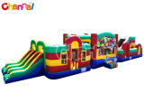 70ft Super Challenge Inflatable Obstacle Course Playgroud for Adults Bb285