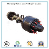 American Type Outboard Trailer Axle with Reliable Operation
