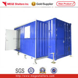 Expandable Container House (equipment shelter)