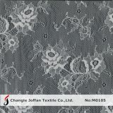 Swiss Voile Chantilly Lace Fabric (M0105)