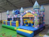 New Design Inflatable Castle Combo Obstacle Course (B5017)