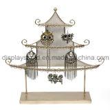 Wrought Iron Display Shelf Metal Rack (wy-4459)