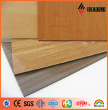 Factory Price Brokencore PE Coated Wood Finish Aluminum Composite Panel